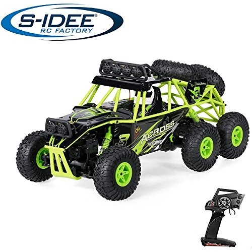 s-idee® 18103 Rock Crawler 18628 mit 2,4 GHz 6WD Buggy Monstertruck Vollproportional